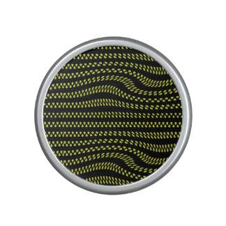 Urban Wave Citrus and Black Speakers Bluetooth Speaker