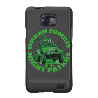 Urban Zombie Night Patrol Galaxy S2 Cases