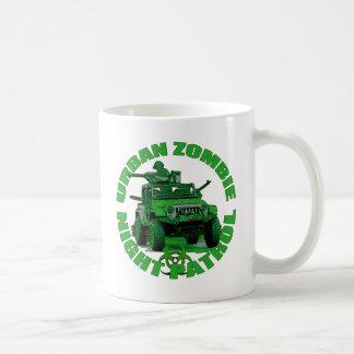 Urban Zombie Night Patrol Coffee Mugs