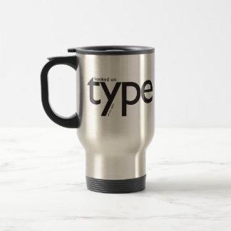 Urbangear | Hooked on TYPE Travel Mug