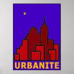 """UrbaNITE"" Print by Artist Alexander Aristotle"