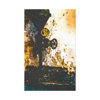 urbex 515 high contrast canvas print