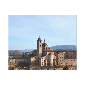Urbino - the Renaissance city in the marks Canvas Print