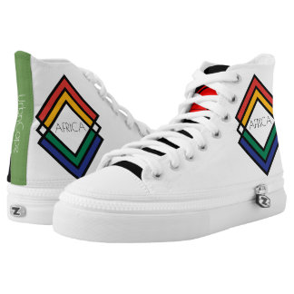 UrbnCape Africa-1 Designer Canvas Sneakers
