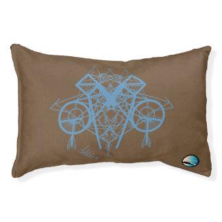 UrbnCape Geometric Blue Designer Dog Bed