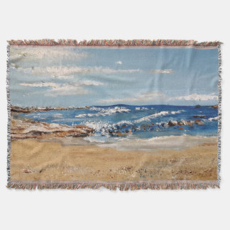 UrbnCape Seascape West Coast Art print throw
