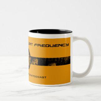 Urgent Frequency 2-Tone Grunge Mug