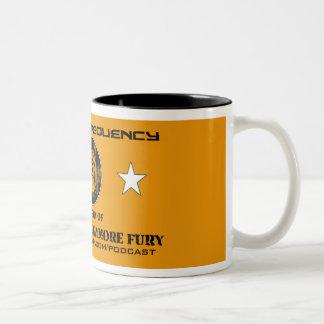 Urgent Frequency COMMANDER FURY 2-Tone Mug