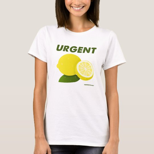 Urgent Lemons, by Vauny T-Shirt