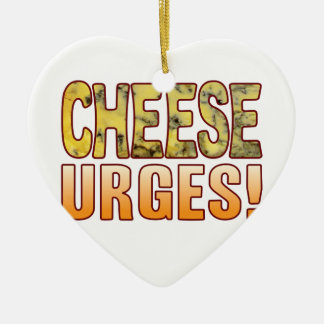 Urges Blue Cheese Ceramic Heart Decoration