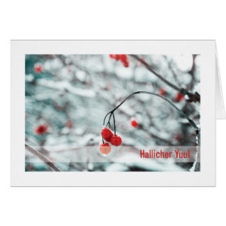 Urglaawe Yuul Card :: Winter Berries