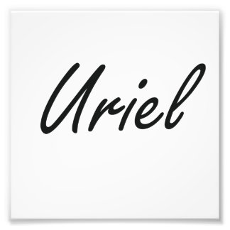 Uriel Artistic Name Design Photo Art