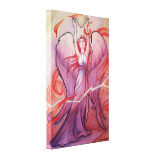 Uriel Gallery Wrapped Canvas