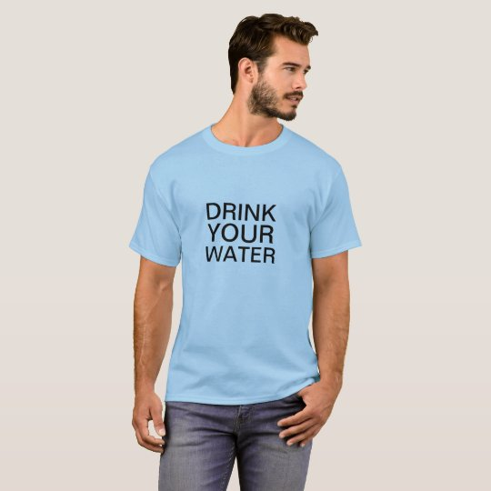 Urine Theraphy Shivambu Drink Your Water Shirt