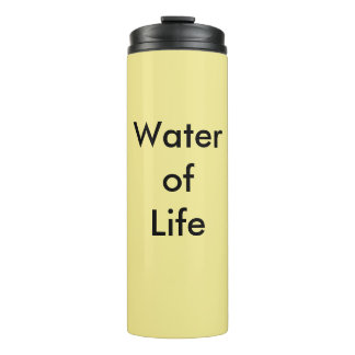 Urine Therapy Water of Life Thermal Tumbler
