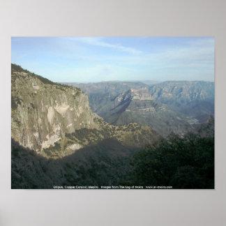 Urique, Copper Canyon, Mexico Posters