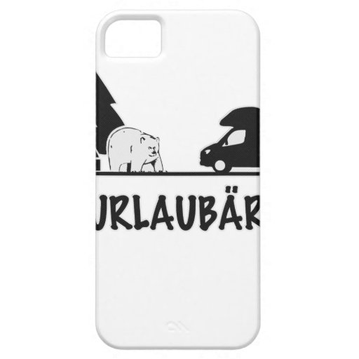 Urlaubär Cover For iPhone 5/5S