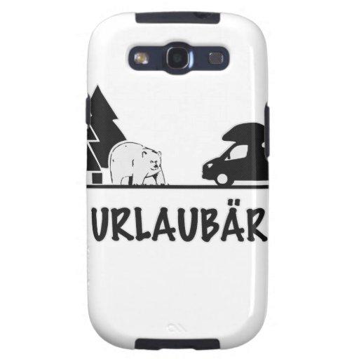 Urlaubär Samsung Galaxy S3 Cases