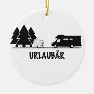 Urlaubär Ornament