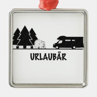 Urlaubär Christmas Ornament