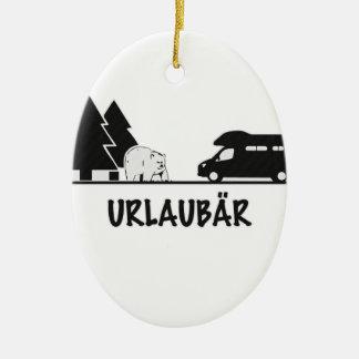 Urlaubär Christmas Tree Ornaments