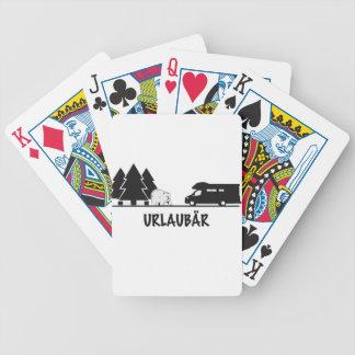 Urlaubär Poker Deck