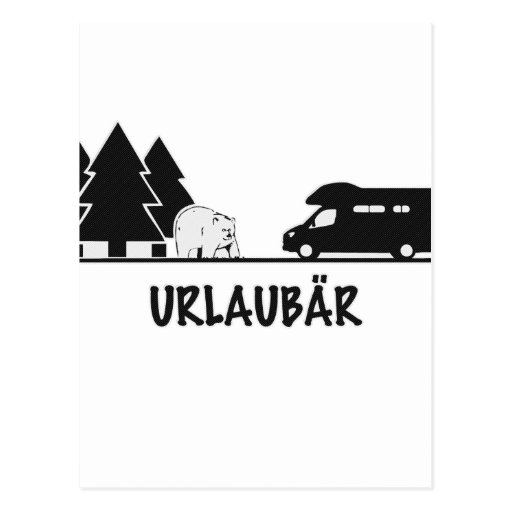 Urlaubär Postcard