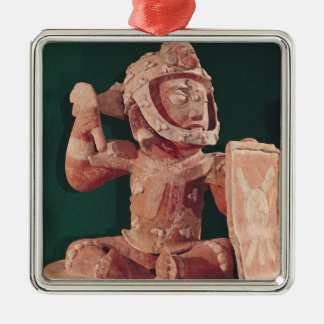 Urn lid with a figure of a warrior christmas ornament