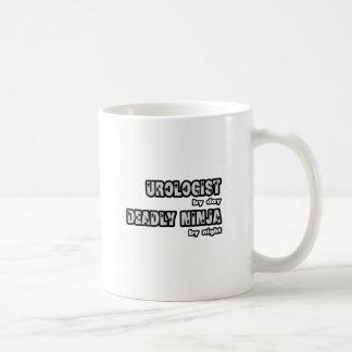 Urologist By Day...Deadly Ninja By Night Coffee Mug