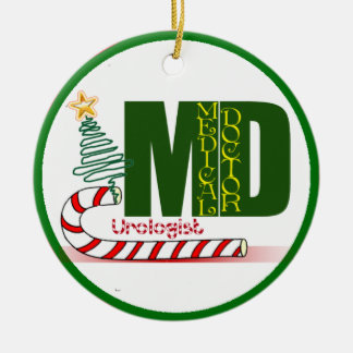 Urologist MERRY CHRISTMAS DOCTOR PHYSICIAN Christmas Ornament