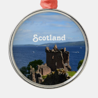 Urquhart Castle Christmas Ornament