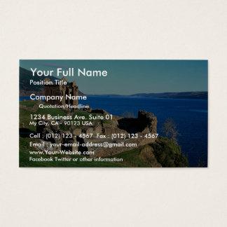 Urquhart Castle, Loch Ness, Scotland Business Card
