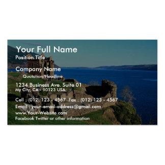 Urquhart Castle Loch Ness Scotland Business Cards