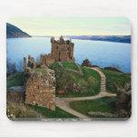 Urquhart Castle, Loch Ness, Scotland Mousepads