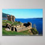 Urquhart Castle, Loch Ness, Scotland Print