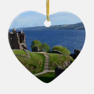 Urquhart Castle Ruins Christmas Ornament