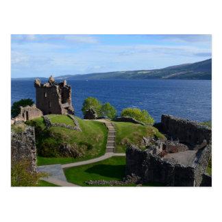 Urquhart Castle Ruins Postcard