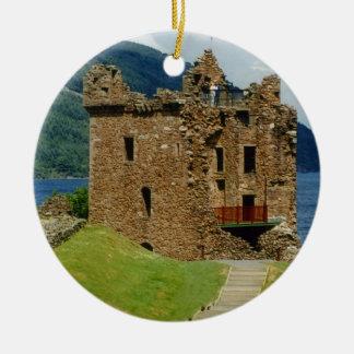 Urquhart Castle - Scottish castles collection Christmas Ornament