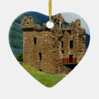Urquhart Castle - Scottish castles collection Christmas Ornament