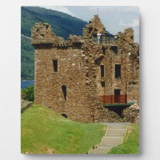 Urquhart Castle - Scottish castles collection Photo Plaque