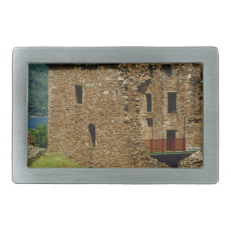 Urquhart Castle - Scottish castles collection Rectangular Belt Buckle