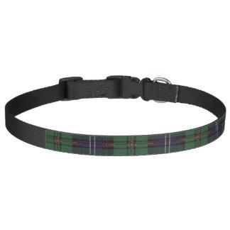 Urquhart clan Plaid Scottish tartan Dog Collar