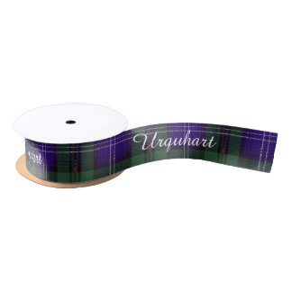 Urquhart clan Plaid Scottish tartan Satin Ribbon