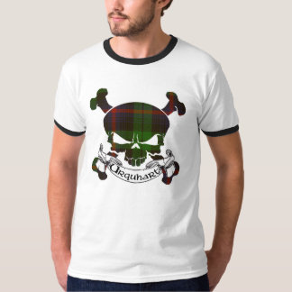Urquhart Tartan Skull T Shirt