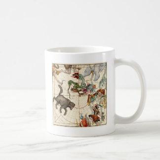 Ursa Major, Perseus, Hercules, Cassiopea,Andromeda Basic White Mug