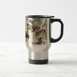 Ursa Major, Perseus, Hercules, Cassiopea,Andromeda Stainless Steel Travel Mug
