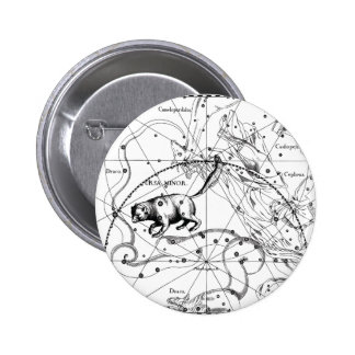 Ursa Minor 6 Cm Round Badge