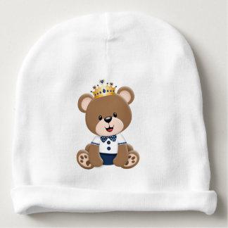 Ursinho Brown Prince Baby Beanie