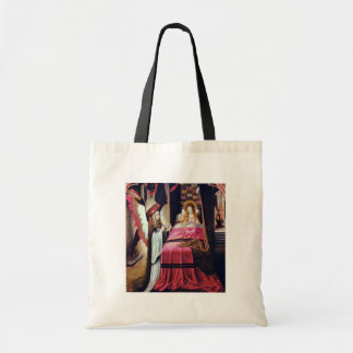 Ursula Cycle: Appearance Of The Angel By Meister D Budget Tote Bag