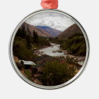 Urubamba Sacred River Valley Cusco Peru Christmas Ornament